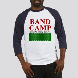 Band Camp - Only the Strong S Baseball Jersey
