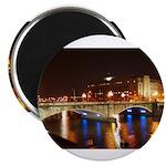 Nighttime on Bridge. Magnet