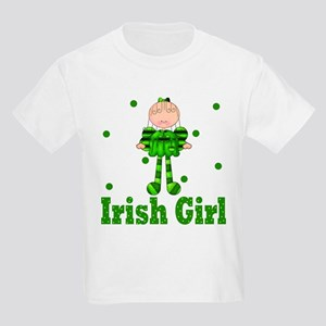 Irish Girl Ireland Pride Kids Light T-Shirt