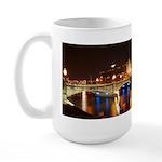 Nighttime on Bridge. Large Mug