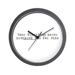 Your Practicum This Wall Clock