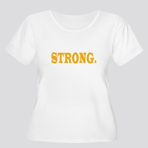 MN STRONG Women's Plus Size Scoop Neck T-Shirt