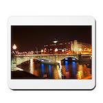 Nighttime on Bridge. Mousepad