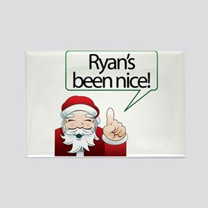 Ryan's Been Nice Rectangle Magnet