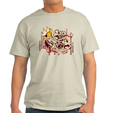 music girl Light T-Shirt