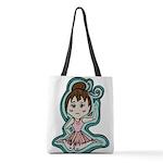 littleanimeballerina Polyester Tote Bag