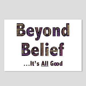 Beyond Belief Postcards (Package of 8)