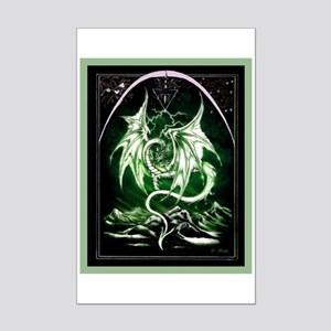 Dragon Art 3 Mini Poster Print