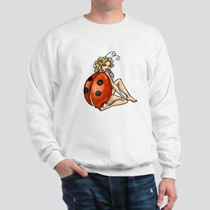 ladybird art Sweatshirt