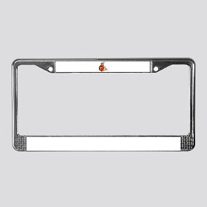 ladybird art License Plate Frame