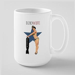 SEXY EOD WIFE Large Mug