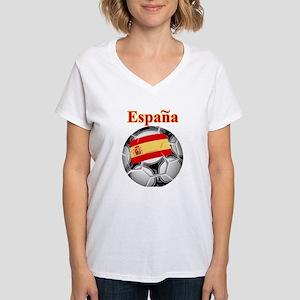 La Furia Roja Women's V-Neck T-Shirt