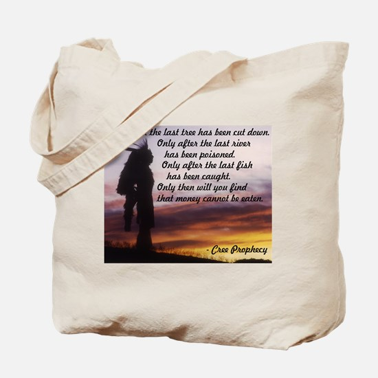 Native Prophecy - Environment Tote Bag