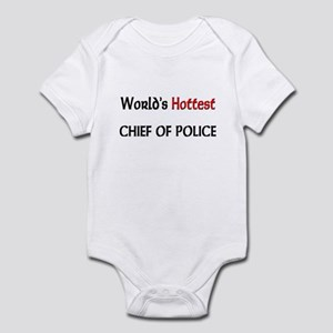 World's Hottest Chief Of Police Infant Bodysuit