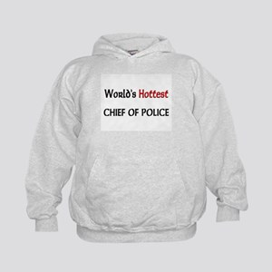 World's Hottest Chief Of Police Kids Hoodie