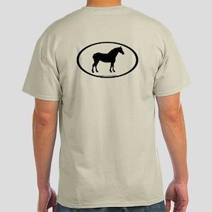 Arabian Horse Oval Light T-Shirt