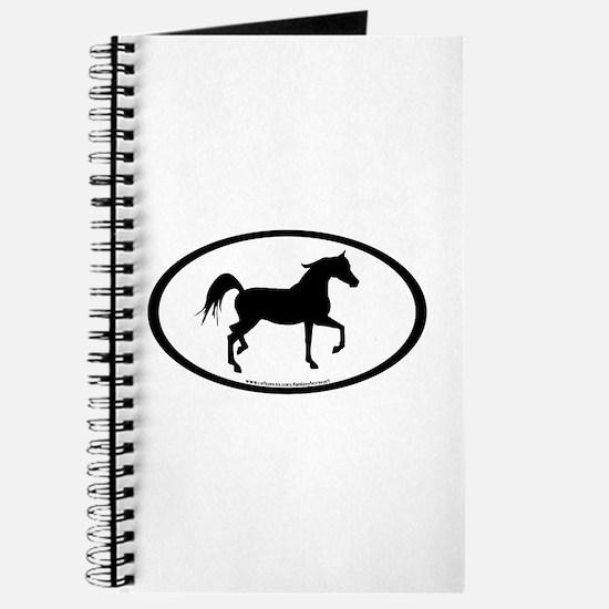 Arabian Horse Oval Journal