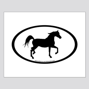 Arabian Horse Oval Small Poster