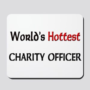 World's Hottest Charity Officer Mousepad