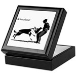 SCHUTZHUND,German Shepherd Keepsake Box