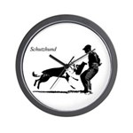 SCHUTZHUND,German Shepherd Wall Clock