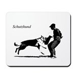 SCHUTZHUND,German Shepherd Mousepad