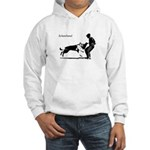 SCHUTZHUND,German Shepherd Hooded Sweatshirt