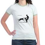 SCHUTZHUND,German Shepherd Jr. Ringer T-Shirt