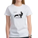 SCHUTZHUND,German Shepherd Women's T-Shirt