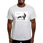 SCHUTZHUND,German Shepherd Light T-Shirt