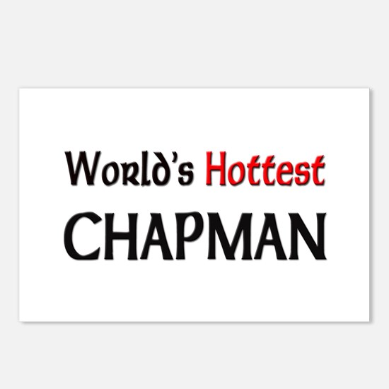 World's Hottest Chapman Postcards (Package of 8)