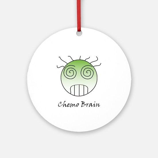 Chemo Brain Ornament (Round)