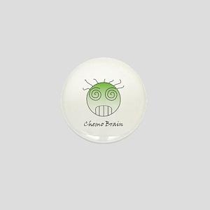 Chemo Brain Mini Button