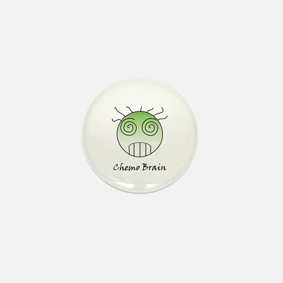 Chemo Brain Mini Button