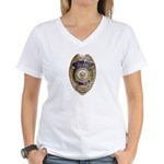 Riverside Police Women's V-Neck T-Shirt