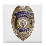 Riverside Police Tile Coaster