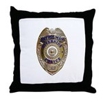 Riverside Police Throw Pillow