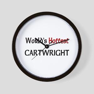World's Hottest Cartwright Wall Clock