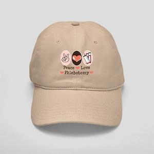 Peace Love Phlebotomy Cap