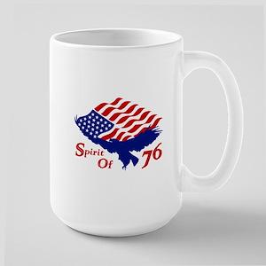 Spirit of 76! USA Patriotic Large Mug