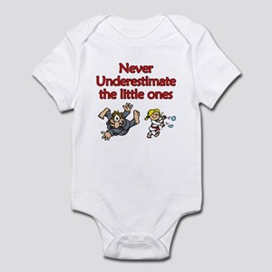 Womens Martial Arts Infant Bodysuit