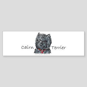 Cairn Terrier Best Friend Bumper Sticker