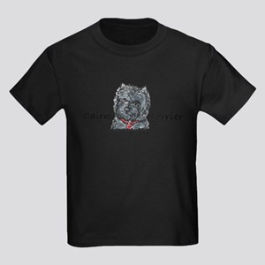 Cairn Terrier Best Friend Kids Dark T-Shirt