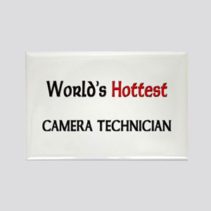 World's Hottest Camera Technician Rectangle Magnet