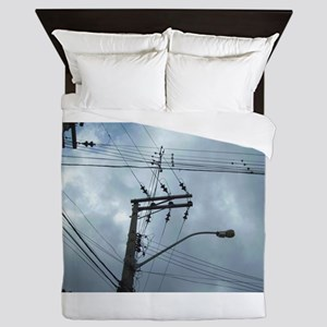 Brasil Powerlines Queen Duvet