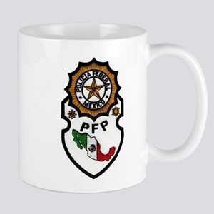 Mexican Federal Police Mug