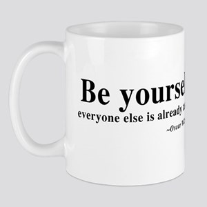 Oscar Wilde - Be Yourself Mug