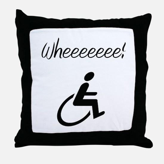 Wheelchair Throw Pillow
