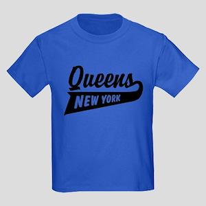 Queens New York Kids Dark T-Shirt