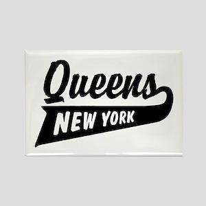 Queens New York Rectangle Magnet